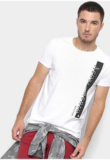 Camiseta Acostamento Estampada Masculina - Masculino