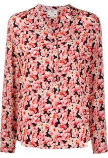 Stella Mccartney Blusa Com Estampa Floral - Rosa