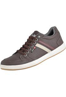 Tênis Sapatênis Sapatofran Com Elástico Confortável Leve Lançamento Café Cr Shoes