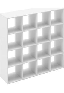 Nicho Modular 4X4 Dominox Belmax Branco