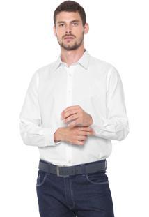 Camisa Aleatory Reta Lisa Branca
