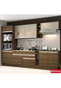 Cozinha Compacta Safira G2015 Rustic - Madesa