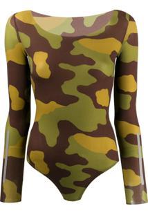 Dsquared2 Body Com Estampa Camuflada - Verde