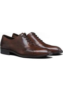 Sapato Social Couro Élié Gibrone Masculino - Masculino-Marrom