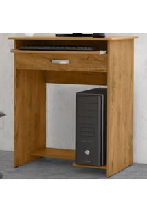 Mesa Para Computador 1 Gaveta 06765 Freijó - Ej Móveis