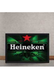 Quadro Decorativo Cerveja Heineken 25X35