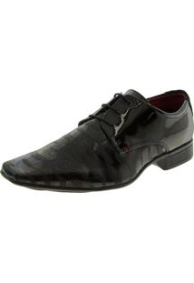 Sapato Masculino Social Verniz/Preto Valecci - 84506