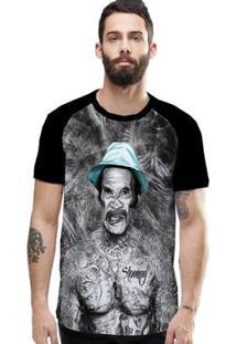 Camiseta Stompy Raglan Modelo 107 Masculina - Masculino