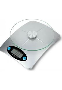 Balança Dagg Digital De Cozinha Alta Precisão 5 Kgs Prata