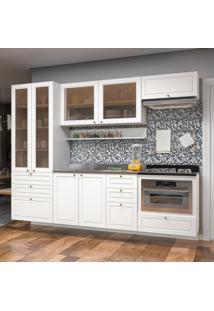 Cozinha Completa 10 Peças Americana Multimóveis 5663Smf Branco
