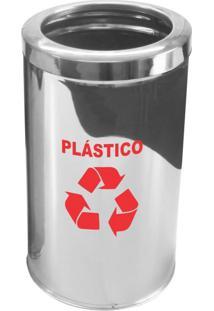 Lixeira Para Coleta Seletiva Plástico Com Aro 25L