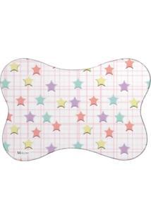 Tapete Pet Mdecore Estrelas Colorido 46X33Cm