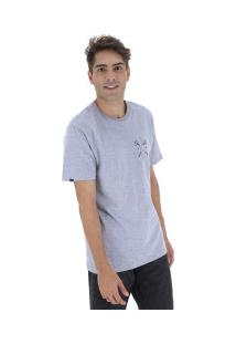 Camiseta Rusty Dwart Sb - Masculina - Cinza