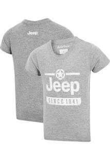 Camiseta Inf. Jeep Since 1941 - Masculino