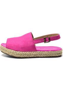 Sandália Indian Line Flat Pink