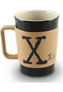 Caneca Coffe To Go- X 300Ml-Mondoceram - Pardo