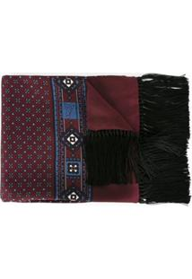 Dolce & Gabbana Lenço De Seda - Vermelho