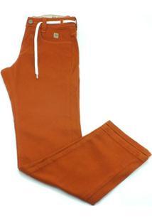 Calça Hocks Jeans Colores - Masculino-Laranja