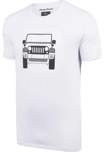 Camiseta Jeep Wrangler Clean - Branco