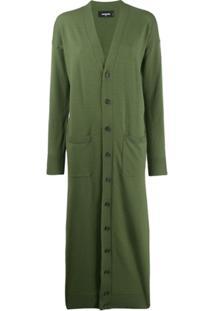 Dsquared2 Cardigan Longo - Verde