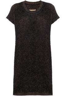 Uma Wang Blusa De Tricô - Marrom
