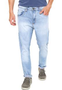 Calça Jeans John John Slim Leeds Azul