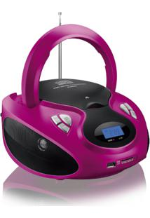 Rádio Portátil Boombox 20W Rms Cd/Usb/Sd/Fm/Aux Multilaser