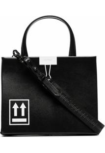Off-White Bolsa Box Mini - Preto