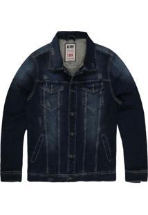 Jaqueta Khelf Moletom Índigo Jeans