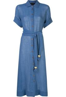 Lisa Marie Fernandez Chemise - Azul