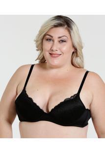 41463b697 ... Sutiã Feminino Com Base Renda Plus Size Marisa