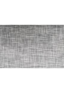 Jogo Americano Textilene 45X30Cm Brunch Cinza