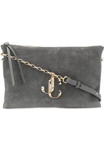 Jimmy Choo Varenne/S Shoulder Bag - Cinza