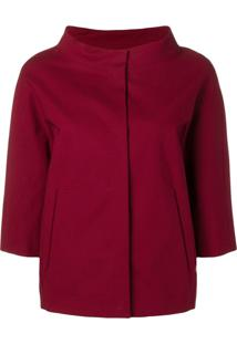 Herno 3/4 Sleeve Jacket - Vermelho