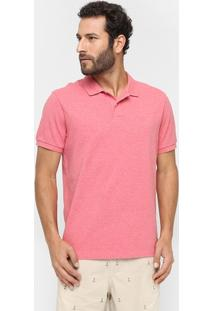 Camisa Polo Richards Piquet Mescla - Masculino