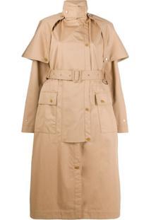 Stella Mccartney Trench Coat Stacey - Neutro