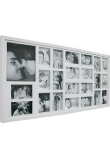 Painel Bee Collection 22 Fotos 10X15Cm E 1 15X21Cm 50X100Cm Branco Kapos