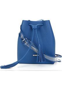 Bolsa Sweetchic Chicago Feminina - Feminino-Jeans