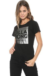 Blusa Billabong Silver Wave Off-White