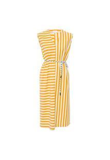 Vestido Summer Stripe - Amarelo