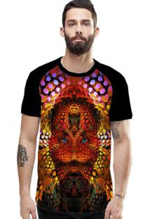 Camiseta Stompy Raglan Modelo 12 Masculina - Masculino
