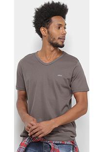 Camiseta Colcci Gola V Lisa Masculina - Masculino