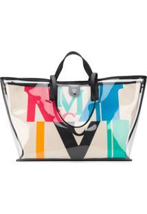 Mcm Panneled Shoulder Bag - Neutro