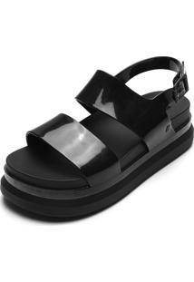 Sandália Melissa Cosmic Sandal Ii Preta
