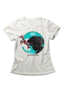 Camiseta Feminina Cowboy Bebop Off-White