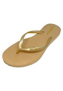 Sandália Colcci Metallic Dourado Feminino