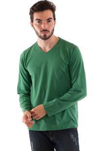 Camiseta Konciny Gola ''V'' Verde