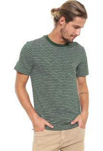 Camiseta Lacoste Listrada Verde