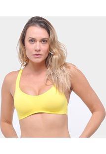 Top Liz Com Bojo 81018 - Feminino-Amarelo