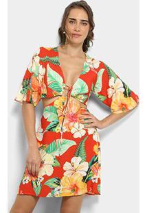 540b156590 Vestido Evase Farm feminino
